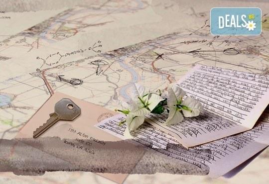 Обичате ли загадки? Обадете се на приятел и се включете в играта Синтагра: Писмо от изчезналия учен в Sintagra Escape Rooms! - Снимка 2