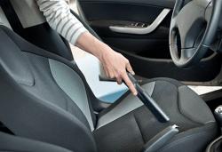 Машинно мокро пране и почистване на салон на лек автомобил, джип или ван от Quickclean! - Снимка