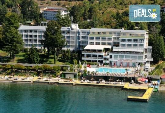 Септемврийски празници в Охрид, Македония! 3 нощувки със закуски и вечери в Hotel Granit 4*, транспорт, екскурзовод и посещение на Скопие! - Снимка 3