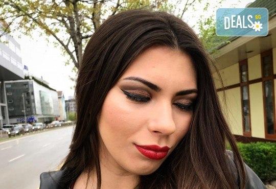Професионален грим за сватби, официални събития и специални поводи с козметика на MAC, NYX, Inglot и др. от гримьор Елица Толева в L'Perla beauty studio! - Снимка 4