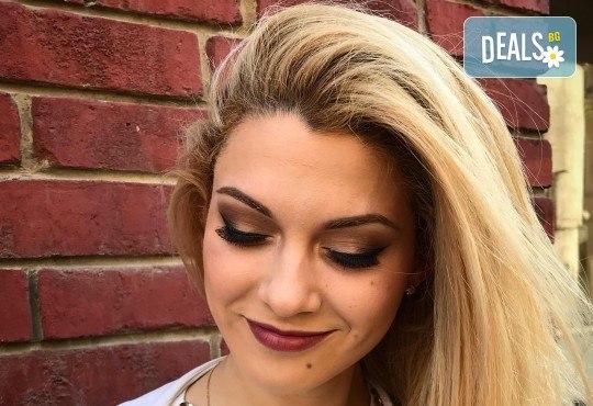 Професионален грим за сватби, официални събития и специални поводи с козметика на MAC, NYX, Inglot и др. от гримьор Елица Толева в L'Perla beauty studio! - Снимка 1
