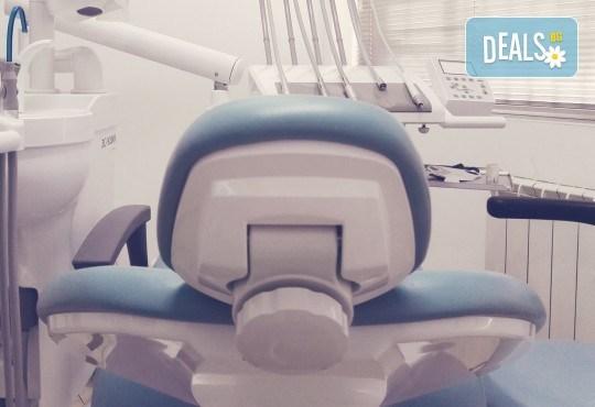 Преглед с интраорална камера, почистване на зъбен камък с ултразвук и полиране на зъби с Airflow от д-р Ценка Доганова! - Снимка 4