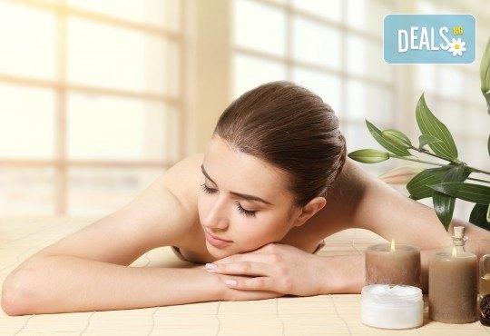 Ориенталска детоксикираща СПА терапия Шри Ланка с масаж и пилинг на гръб, билкови торбички с канела, зелен чай и цитруси в Wellness Center Ganesha! - Снимка 1