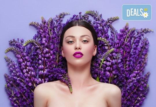 60-минутен ароматерапевтичен масаж на цяло тяло с натурални масла от розмарин и лавандула + бонус: 10-минутен масаж на ходила в салон Ивида! - Снимка 1