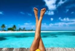 Покажете перфектните си крака! Педикюр с гел лак на Gelish в студио за красота Beauty в Лозенец! - Снимка