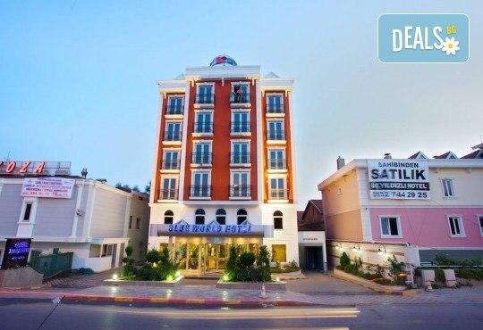 СПА почивка в хотел Blue World Hotel 4*, Кумбургаз, Истанбул: 2 нощувки със закуски