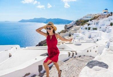 Почивка за Септемврийските празници на романтичния остров Санторини, Гърция! 6 нощувки със закуски в хотел 3*, транспорт и посещение на Атина! - Снимка