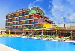 Почивка за Септемврийските празници в Blue Paradise Side Hotel & Spa 4*, Сиде! 7 нощувки на база All Inclusive, ползване на турска баня, басейн, чадър и шезлонг, възможност за транспорт! - Снимка