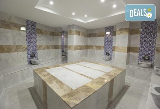 Почивка за Септемврийските празници в Blue Paradise Side Hotel & Spa 4*, Сиде! 7 нощувки на база All Inclusive, ползване на турска баня, басейн, чадър и шезлонг, възможност за транспорт! - Снимка 5