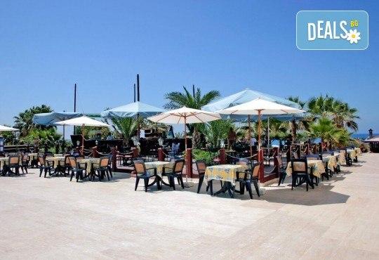 Луксозна почивка през септември в Green Paradise Beach Hotel 4*, Алания! 7 нощувки на база All Inclusive, ползване на чадър, шезлонг и турска баня! - Снимка 9
