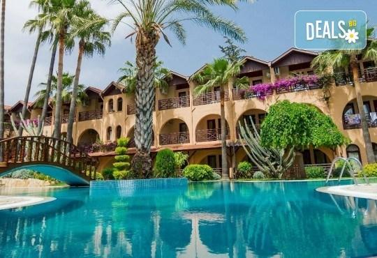 Луксозна почивка през септември в Green Paradise Beach Hotel 4*, Алания! 7 нощувки на база All Inclusive, ползване на чадър, шезлонг и турска баня! - Снимка 1
