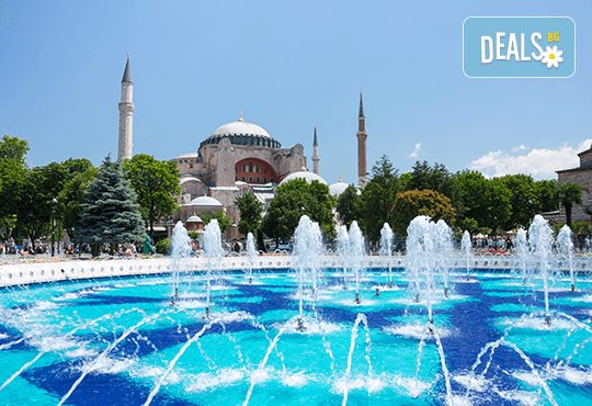 Истанбул, Чорлу и Одрин, юли и август: 2 нощувки със закуски, транспорт и Watergarden
