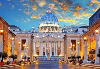 Прелестният Рим Ви очаква в август или септември! 3 нощувки със закуски в хотел 3*/4*, самолетен билет и летищни такси! - Снимка