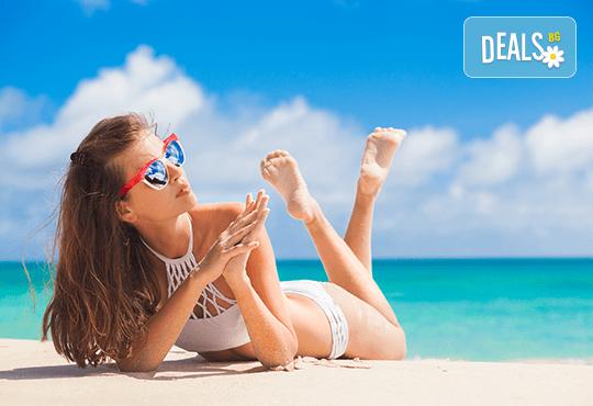 За 1 ден на плаж през лятото в Неа Ираклица, Гърция: транспорт и екскурзовод