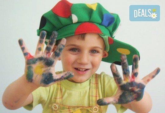 Лятна детска занималня с много игри, екскурзии, посещения на кино и арт ателиета в Детски арт център Приказка! - Снимка 6