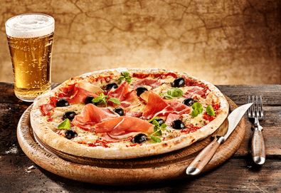 Апетитно и изгодно! Пица по избор от менюто на ресторант Болярите в Банкя и безплатна бира! - Снимка