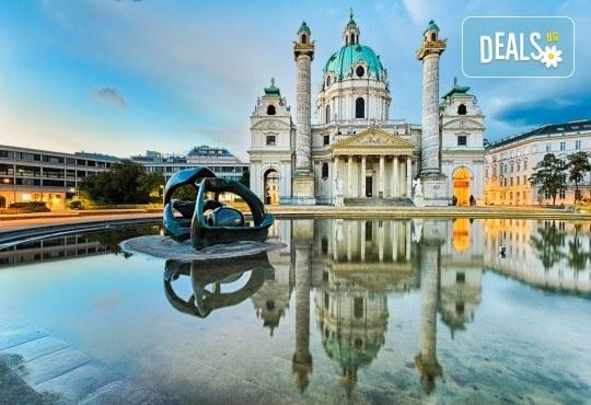 Екскурзия през август до красивите Будапеща и Виена! 3 нощувки със закуски в хотели 2*/3*, транспорт, посещение на Белград и мол във Виена! - Снимка 1