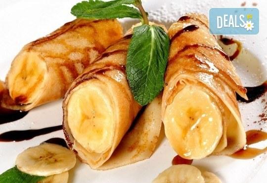 Вкусно предложение от CreatEvents Кетъринг - плато солени или сладки палачинки! - Снимка 1