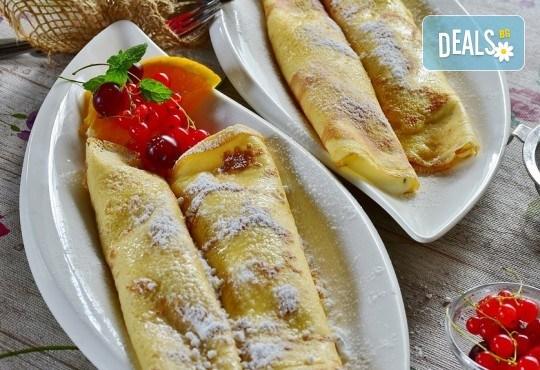 Вкусно предложение от CreatEvents Кетъринг - плато солени или сладки палачинки! - Снимка 2