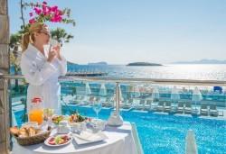 Супер луксозна почивка в хотел Grand Park Bodrum 5*, Бодрум, с България Травъл! 7 нощувки на база Ultra All inclusive и транспорт - Снимка