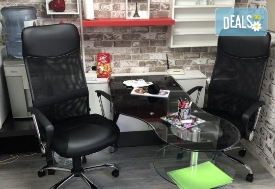 Нова прическа! Боядисване с боя на клиента, кератинова терапия и прав сешоар в салон Diva! - Снимка 6