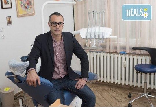 За здрави зъби! Профилактичен преглед, поставяне на фотополимерна пломба и план за лечение в Sofia Dental! - Снимка 4