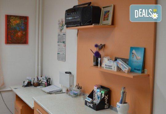 За здрави зъби! Профилактичен преглед, поставяне на фотополимерна пломба и план за лечение в Sofia Dental! - Снимка 6