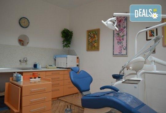 За здрави зъби! Профилактичен преглед, поставяне на фотополимерна пломба и план за лечение в Sofia Dental! - Снимка 3