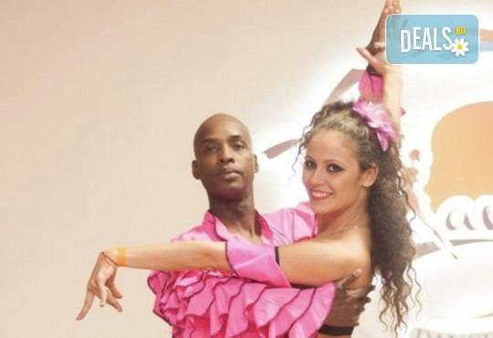 Четири урока по латино танци при Силвия Лазарова - професионален танцьор и инструктор по латино и спортни танци, в Sofia International Music & Dance Academy! - Снимка 5