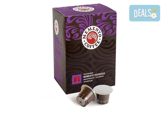 10 или 100 капсули Memento Espresso, Nespresso* Standard от Memento