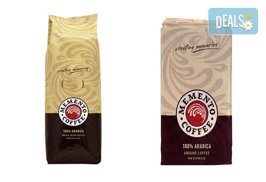 Качествено кафе на супер цена! Вземете Memento ® Espresso на зърна или мляно от Café Memento! - Снимка 2