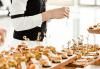 Вземете 25 броя брускети с орехи, синьо сирене и ементал или моцарела, песто и домати от H&D catering, София! - thumb 1