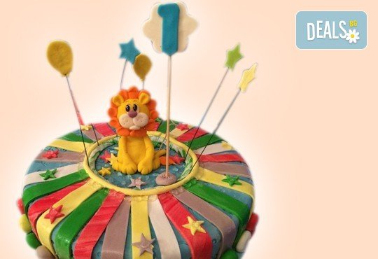 За Вашето дете! 3D торта с герои от филми по дизайн на Сладкарница Орхидея! - Снимка 14