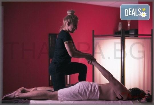 Ритуал Рестарт за тялото и ума директно от Изтока! Традиционен тайландски масаж на тепих - 60 мин. и релакс в солна стая с халотерапия - 40 мин., от Thai SPA! - Снимка 2
