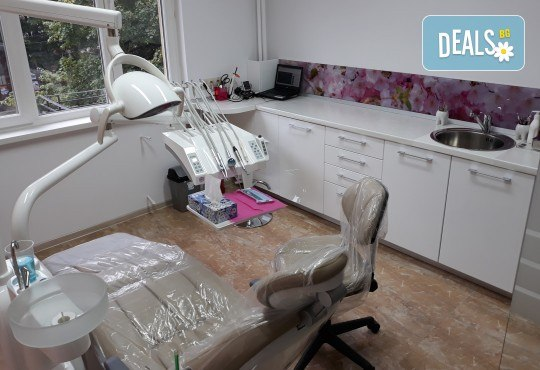 За здрави зъби! Лечение на кариес и поставяне на фотополимерна пломба в DentaLux! - Снимка 4