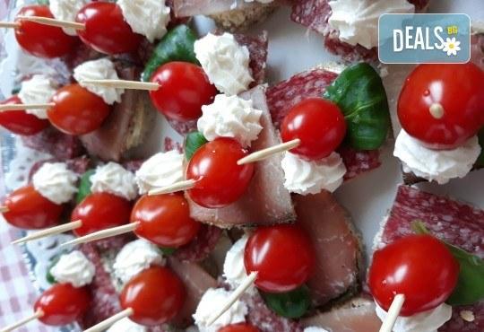 Специално предложение за Вашия повод! Вземете 120 броя коктейлни хапки с прошуто, ементал, грозде и пастърма от My Style Event! - Снимка 3