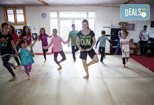 Четири посещения на танцова и тетрална импровизация за деца в Sofia International Music & Dance Academy! - Снимка 3