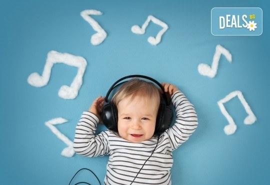 Две или четири посещения на музикално студио за бебоци в Sofia International Music & Dance Academy! - Снимка 1