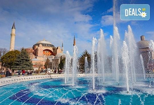 Last minute! За 06.09. в Истанбул: 3 нощувки със закуски в хотел 3*, транспорт, екскурзовод и възможност за посещение на Watergarden Istanbul и Via Port Venezia - Снимка 1