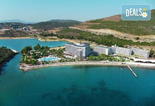 На море в Кушадасъ, Турция, с Глобус Холидейс! 7 нощувки All Inclusive в хотел Tusan Beach Resort 5*, безплатно за дете до 12 г., собствен транспорт - Снимка 13