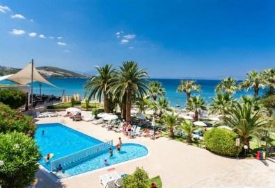 На море септември в Кушадасъ, Турция, с Глобус Холидейс! 7 нощувки All Inclusive в хотел Tusan Beach Resort 5*, безплатно за дете до 12 г., собствен транспорт - Снимка