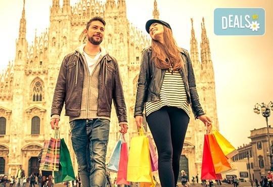 Самолетна екскурзия до Милано през октомври! 3 нощувки със закуски в хотел 2*, билет, летищни такси, трансфер и възможност за шопинг в Serravalle Outlet - Снимка 1