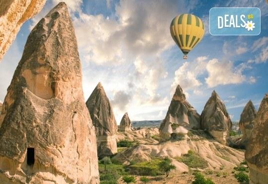Екскурзия до Кападокия с АБВ ТРАВЕЛС през октомври 4 нощувки със, 4 закуски и 3 вечери, транспорт, обзорни обиколки в Анкара, Кападокия и Бурса, програма в Коня - Снимка 2