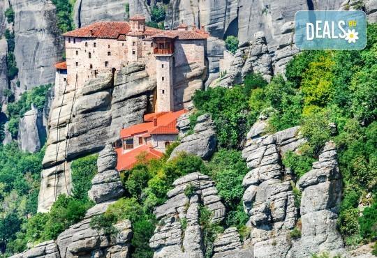 До Солун, Вергина и скалните манастири в Метеора, Гърция: 2 нощувки със закуски, транспорт