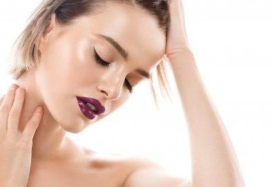 Грижа за Вашата коса! Масажно измиване, нанасяне на маска, подстригване и оформяне на прическа в студио за красота Jessica! - Снимка