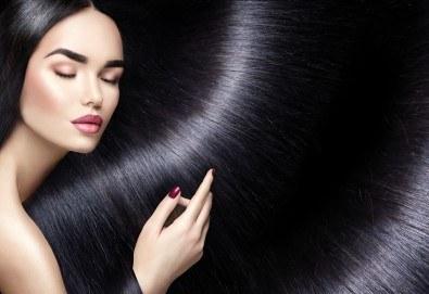 Укротете непокорната и чуплива коса с трайно изправяне в студио за красота Jessica! - Снимка