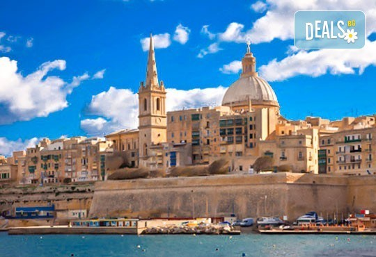 Екскурзия през октомври до слънчева Малта! 3 нощувки със закуски в хотел 3*, самолетен билет, трансфер и водач от агенцията! - Снимка 1