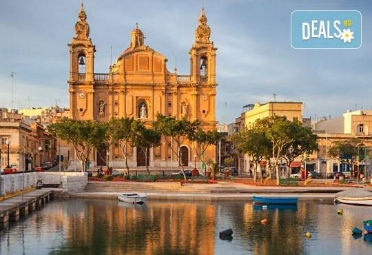 Екскурзия през октомври до слънчева Малта! 3 нощувки със закуски в хотел 3*, самолетен билет, трансфер и водач от агенцията! - Снимка 2