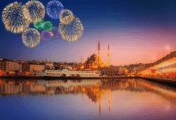 Посрещнете Нова година 2019 в хотел Bekdas De Lux 4*, Истанбул! 3 нощувки със закуски, транспорт и богата туристическа програма - Снимка