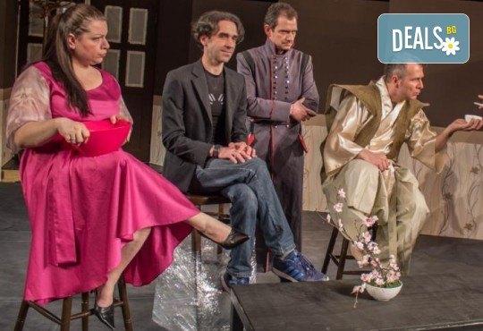 Щура комедия с Милица Гладнишка! Гледайте Брачни безумия на 11.10. от 19ч. в Театър Сълза и Смях, билет за един - Снимка 7
